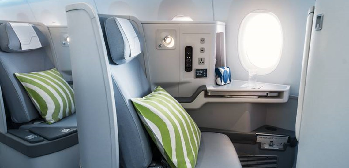 Finnair Business seat