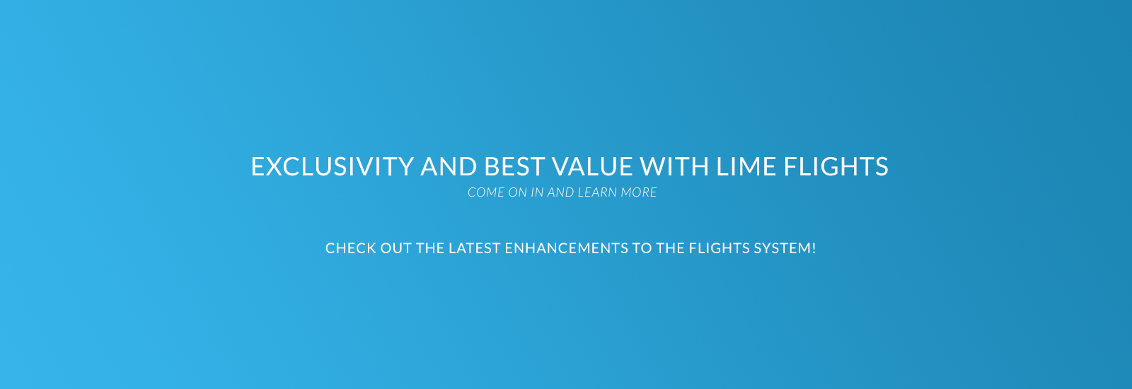 Flights - Lime